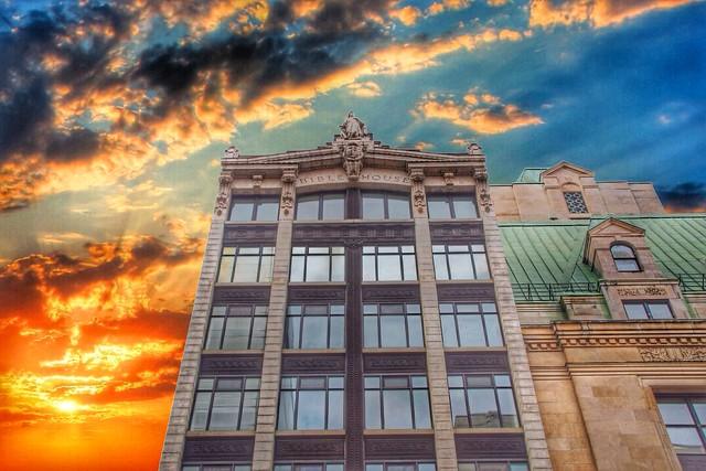 Ottawa Ontario - Canada - Bible House AKA Hope Building - Sparks Street Mall