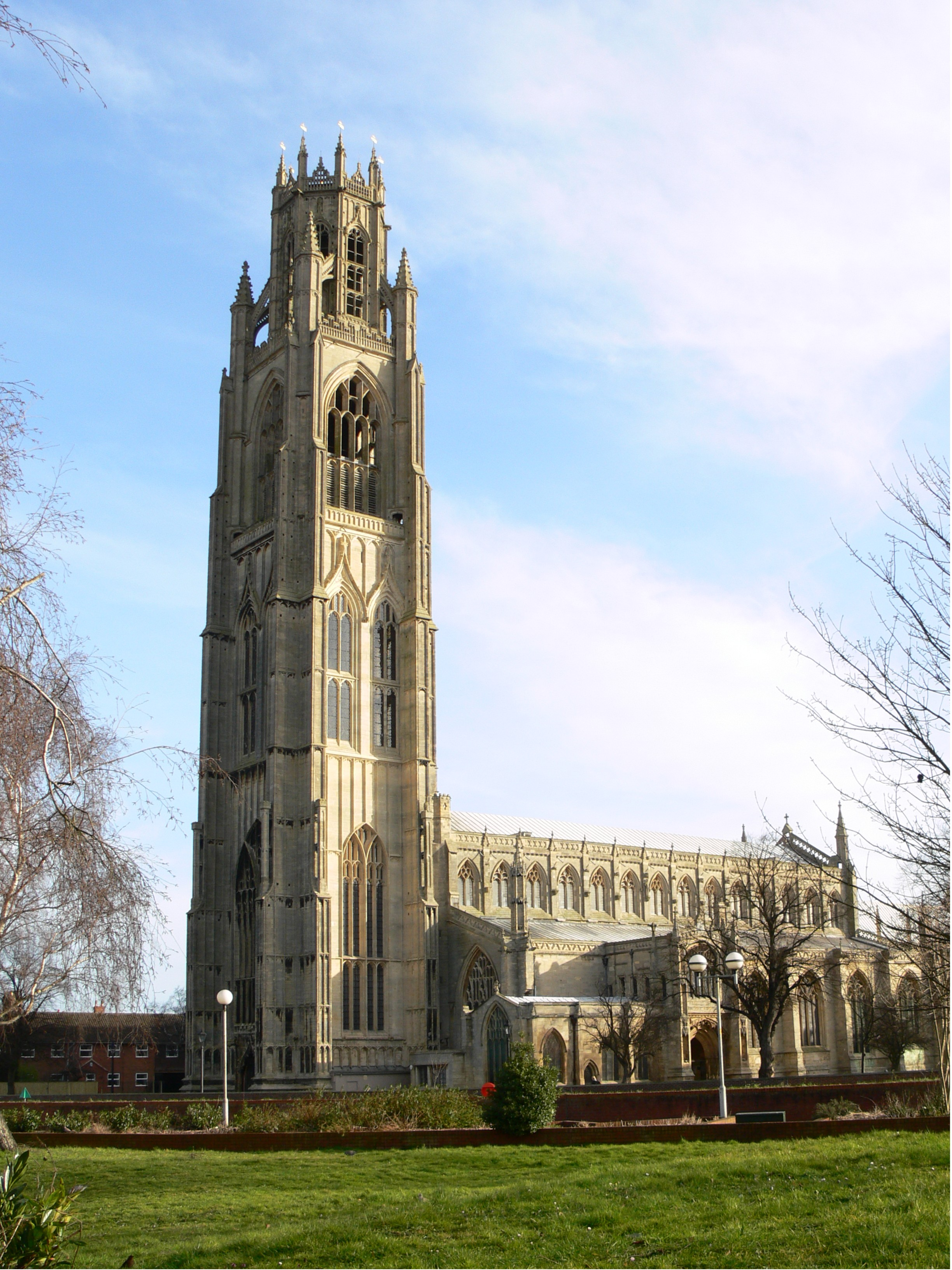 Lincolnshire, BOSTON, St Botolph