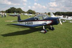 G-BAKR Jodel D.117 [814] Sywell 020917