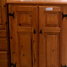 Tall pine solid wood unit E150