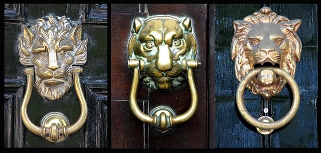 Door Knockers - Big Cats (23, 24 & 28)