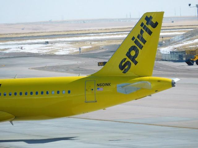 Spirit A320-232 N601NK