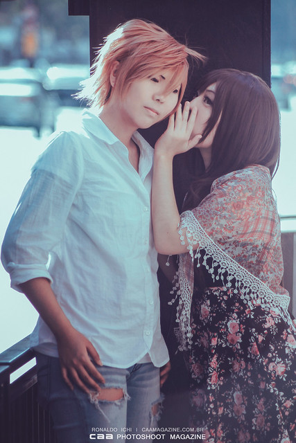 Teru Kurebayashi & Tasuku Kurosaki | DENGEKI DAISY cos Midori & Hanz