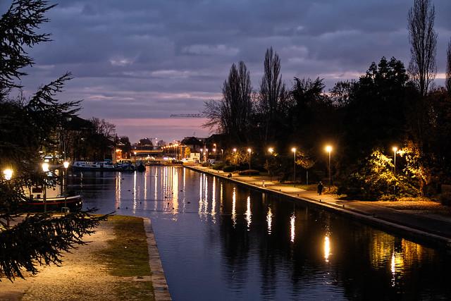 Lumières sur le canal