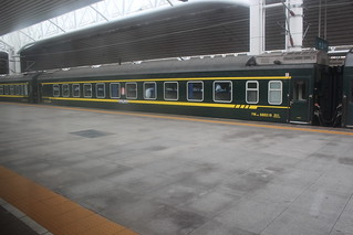 Train from Beijing at Dandong train station | by Timon91