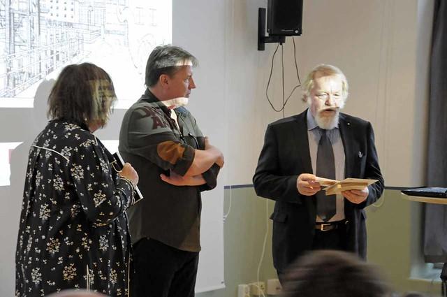 Margareta van der Bosch, Charlie Christensen och Lars-Olof Johansson