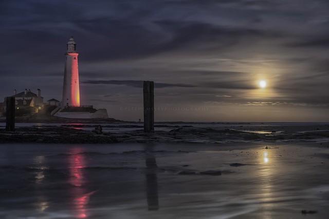 St Mary's lighthouse - whitely bay