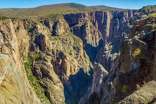 chasmview lookout gunnison gorge southrim blackcanyonofthegunnisonnationalpark colorado usa russellscottimages