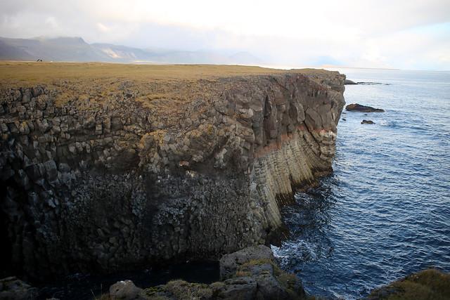 The coast at Arnarstapi