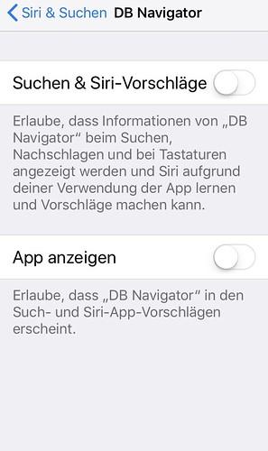 iOS 11.2: Einstellungen / Siri & Suche   by thosch66