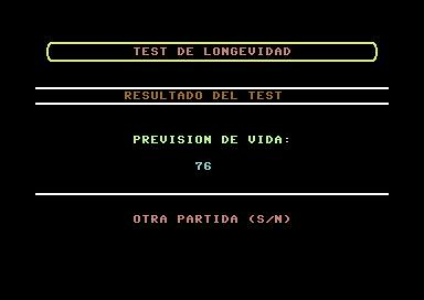 Test de Longevidad (Commodore 64) | by Deep Fried Brains