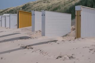 Beach cabins in Zeeland | by knipslog.de