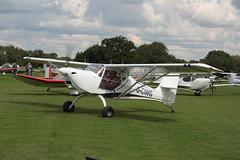 G-CIWG Aeropro Eurofox [LAA 376-15351] Sywell 010917