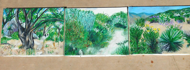Panel Painting California