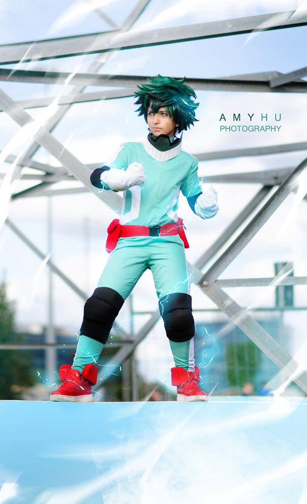 Boku No Hero Academia Cosplay Bnha Deku Izuku Midoriya Flickr