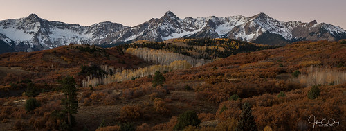 ridgway colorado sunset mountains dallasdivide fall jclay sanjuanmountains