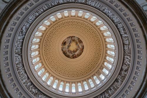 washington dc capitol rotunda dome travel usa