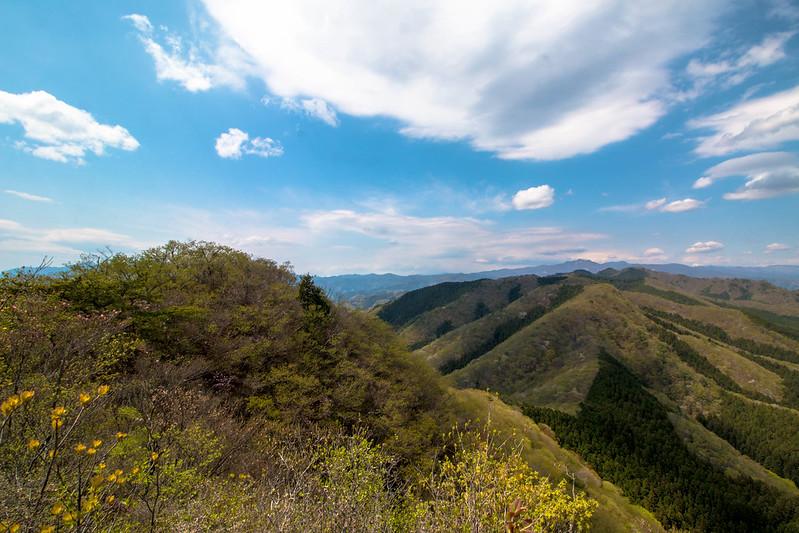新緑の鳴神山
