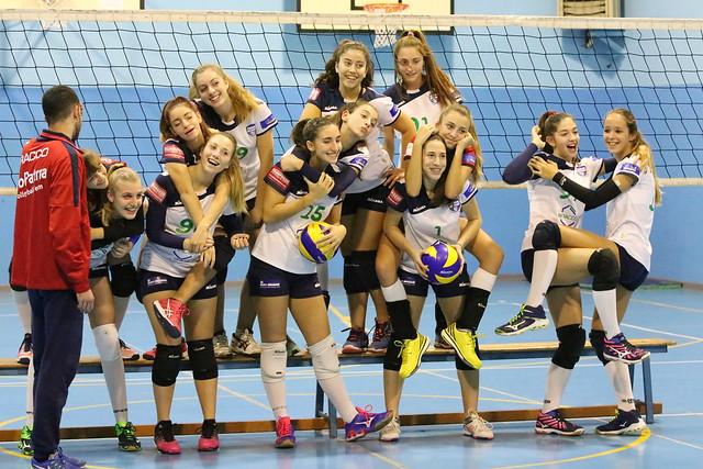 Backstage foto di squadra U 16