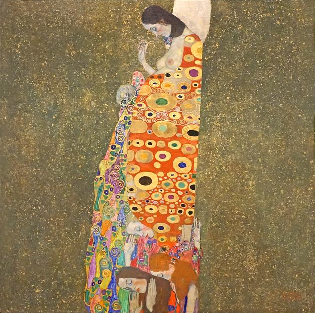 L'Espoir, II de Gustav Klimt (Fondation Louis Vuitton, Paris)