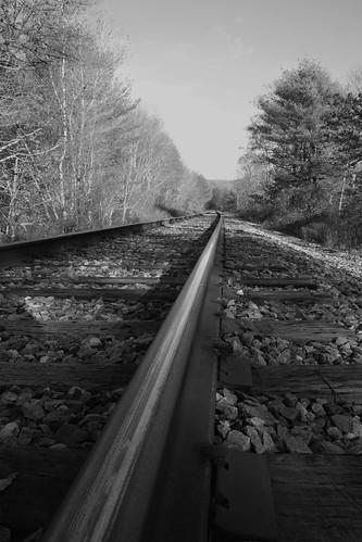 tracks blackandwhite