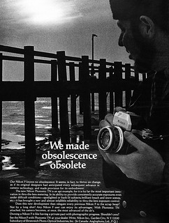 Nikon F camera advertisement. | by Jerry Vacl