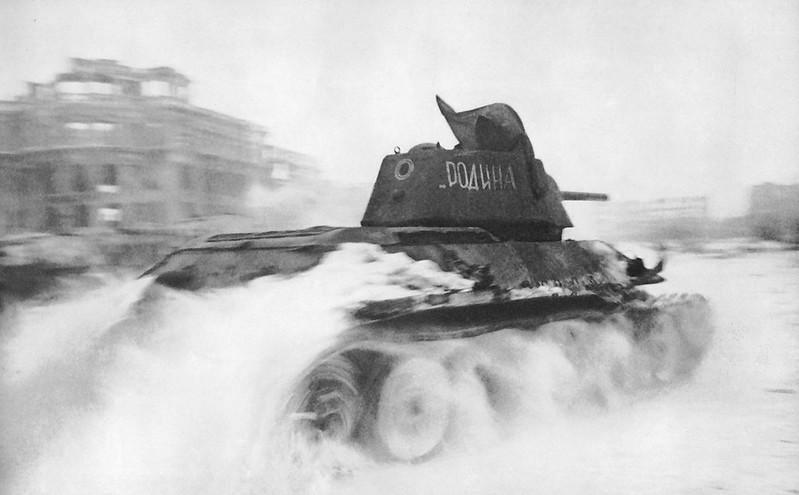 Съветски танк Т-34