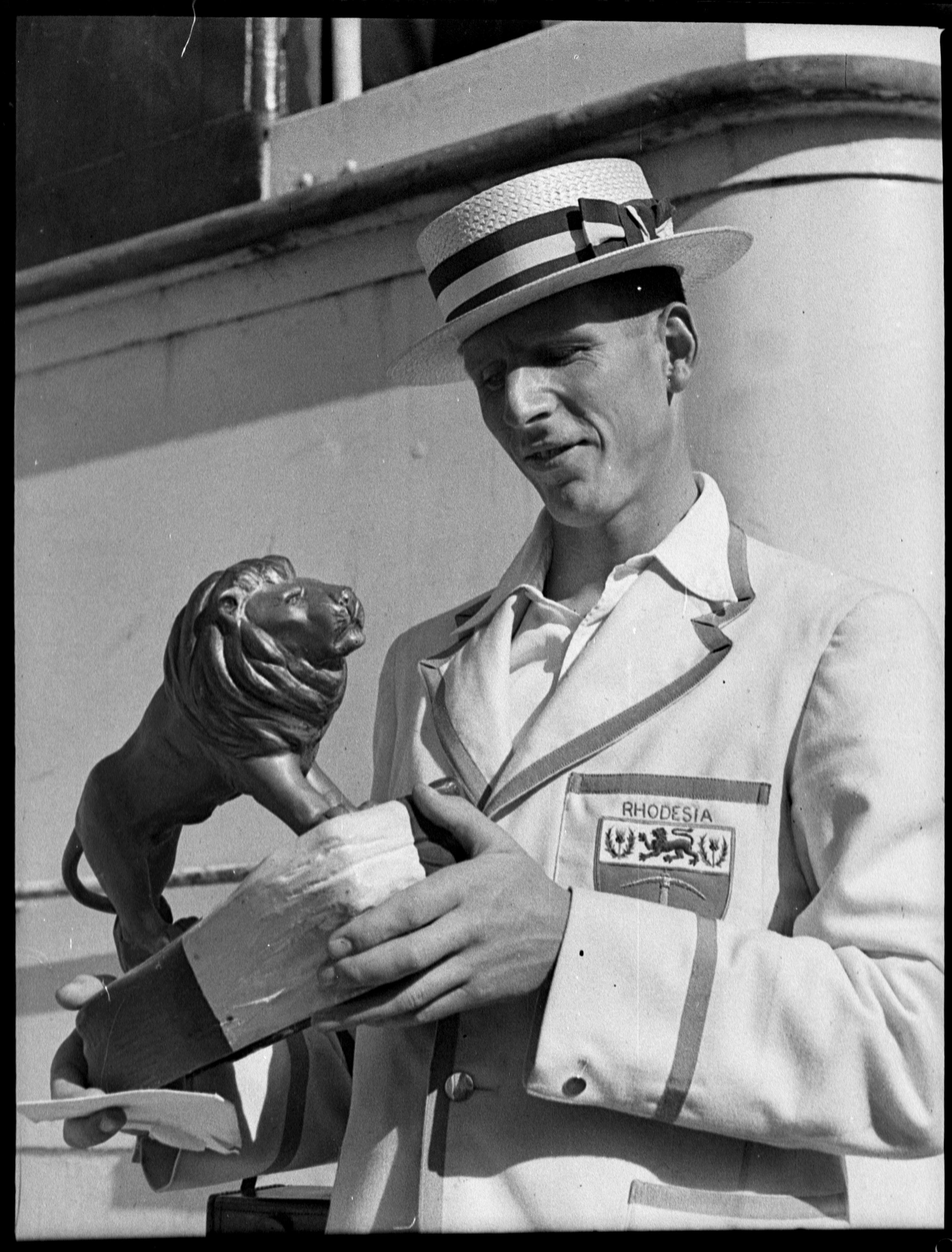 Empire Games Competitor, 1938, Sam Hood