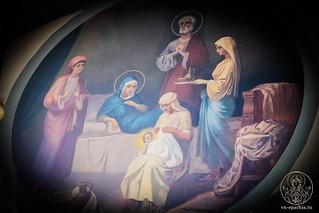 Литургия в Покровском соборе 134