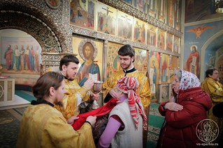 Литургия в Иверском монастыре 210
