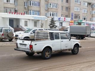 VAZ 2329 NIVA LADA 2329 pick-up Lastochka  1:43