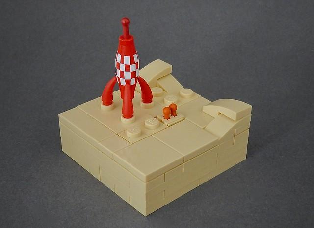 Micro Lego Tintin