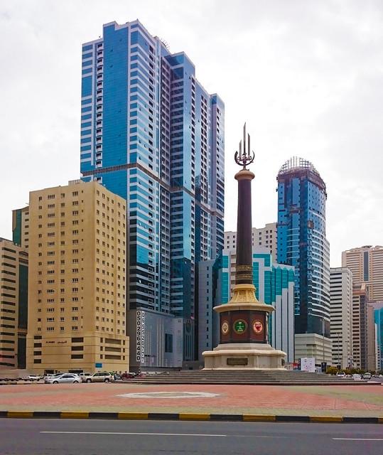 Al Taawun Roundabout