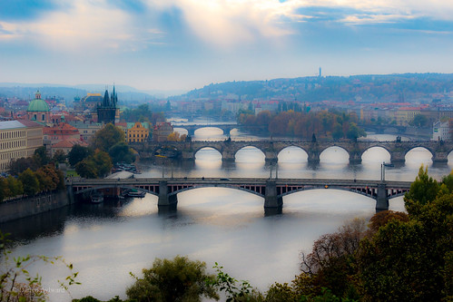 prague hlavníměstopraha czechia cz river bridges bridge hazy morning misty beautiful stunning breathtaking sky vltava letna park city capital town efs55250mmf456isstm