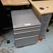 Silver metal mobile ped  E50