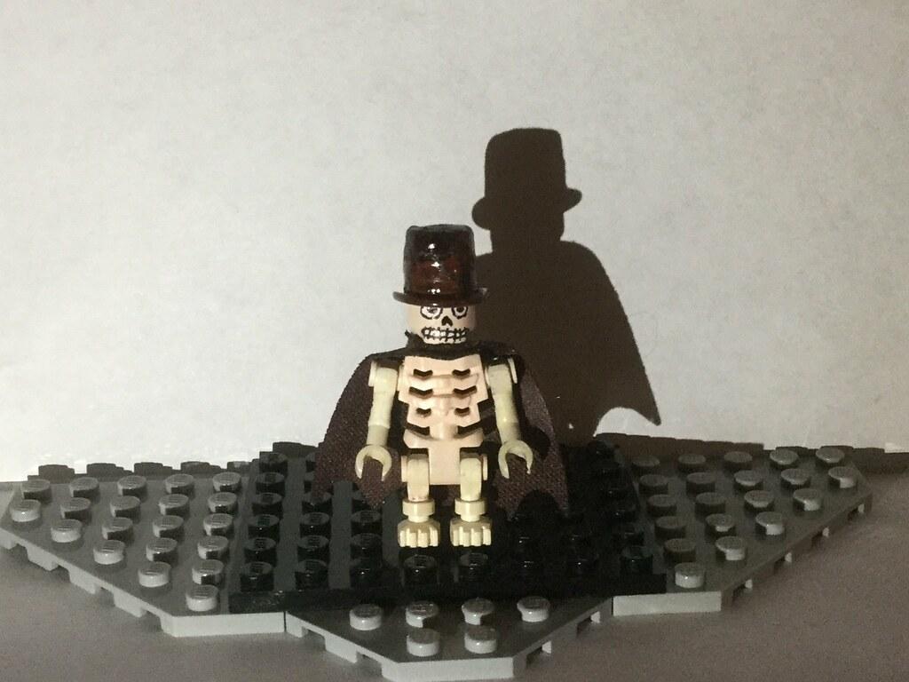 Lego Custom Skin Taker Jawbone Creepypasta Candle Cove C