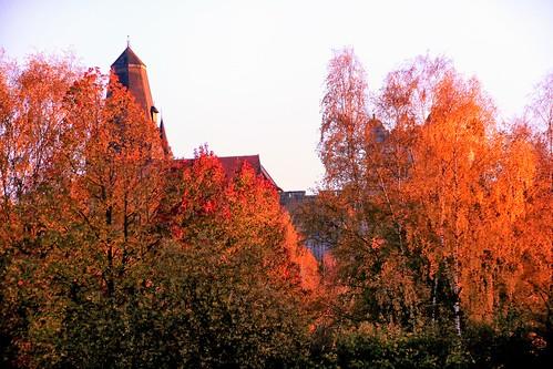 ...Burg im Herbst