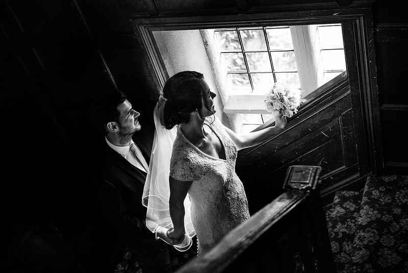 Leica Wedding B&W