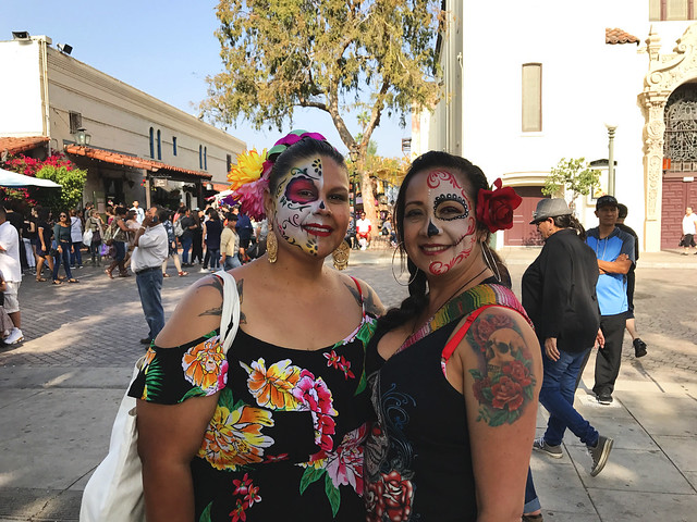 Celebrating Day of the Dead at Olvera Street