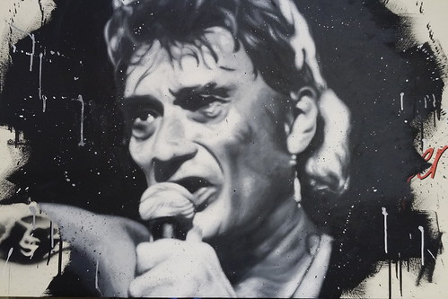 Johnny Hallyday painted portrait DXO_1382DXO_1379 | by Abode of Chaos
