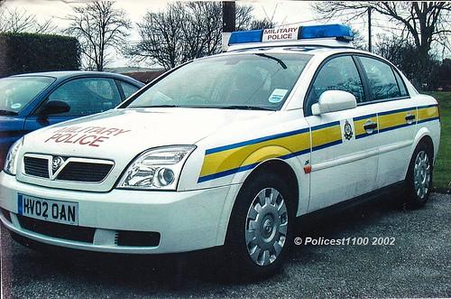 RMP Royal Military Police Vauxhall Vectra HV02 OAN