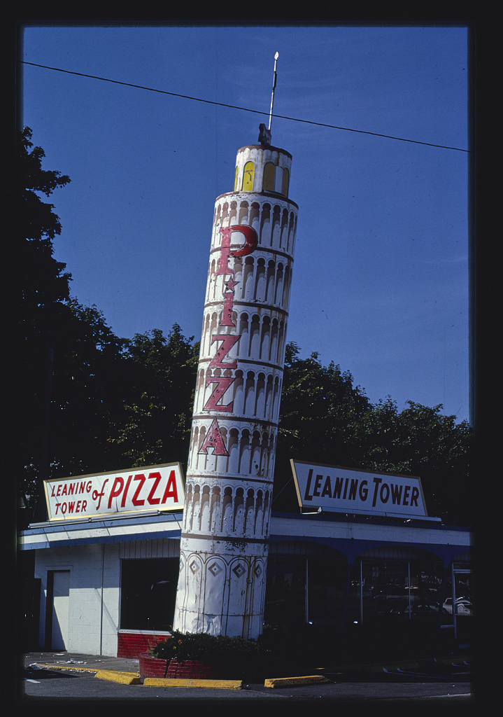 Leaning Tower of Pizza, Quincy, Massachusetts (LOC)