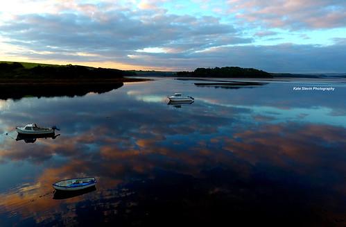 donegal ireland sunrise sunset landscape seascape mountains lakes woodland