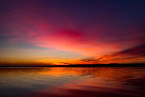 canoneosm canon clouds ukraine autumn sunset purple fall shore sky river reflection water landscape mykolaiv