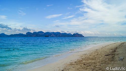 lцdоіс koh poda island isle île plage beach blue dream rêve thailande thailand travel trip thailandia thaïlande voyage bleu andaman krabi aonang sea mer nature