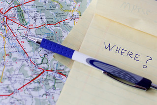 Road Map With Notebook And a Pen . | by wuestenigel