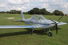 G-CFGX Evektor EV-97 [2008-3212] Sywell 010917
