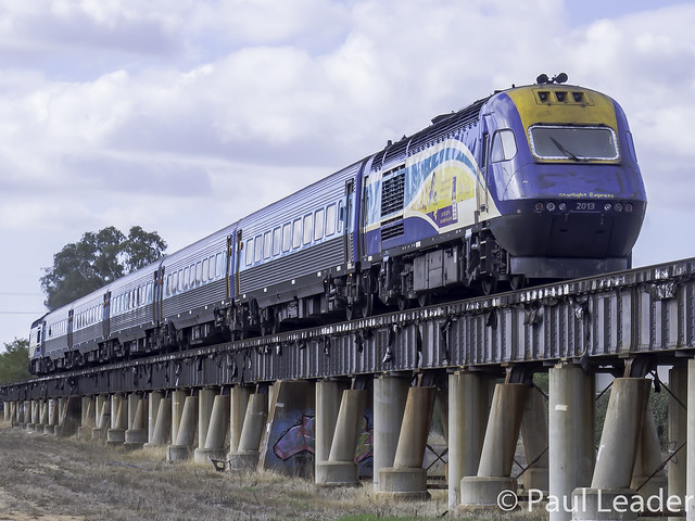 NSW Trainlink XPT trailing engine XP2013 named