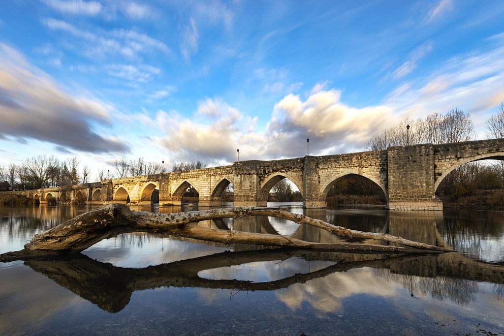 Resultado de imagen de puente simancas valladolid