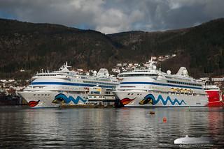 AIDAcara & AIDAvita | by Aviation & Maritime